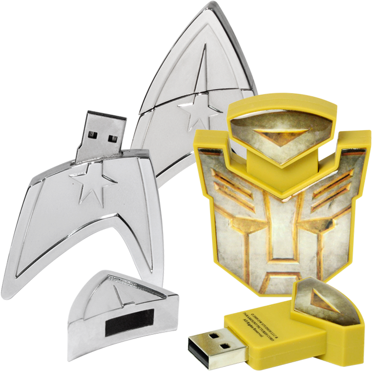 02 startrek - Star Trek and Transformers USB