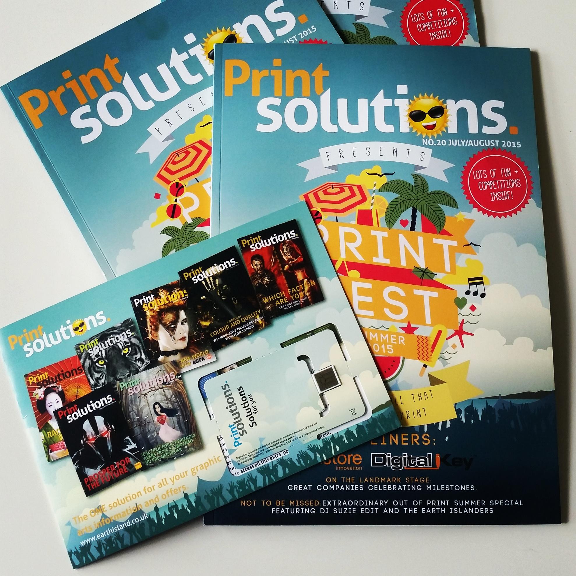 Print Solutions talks Digital Key - Print Solutions Talk Digital Key With Amstore Innovation