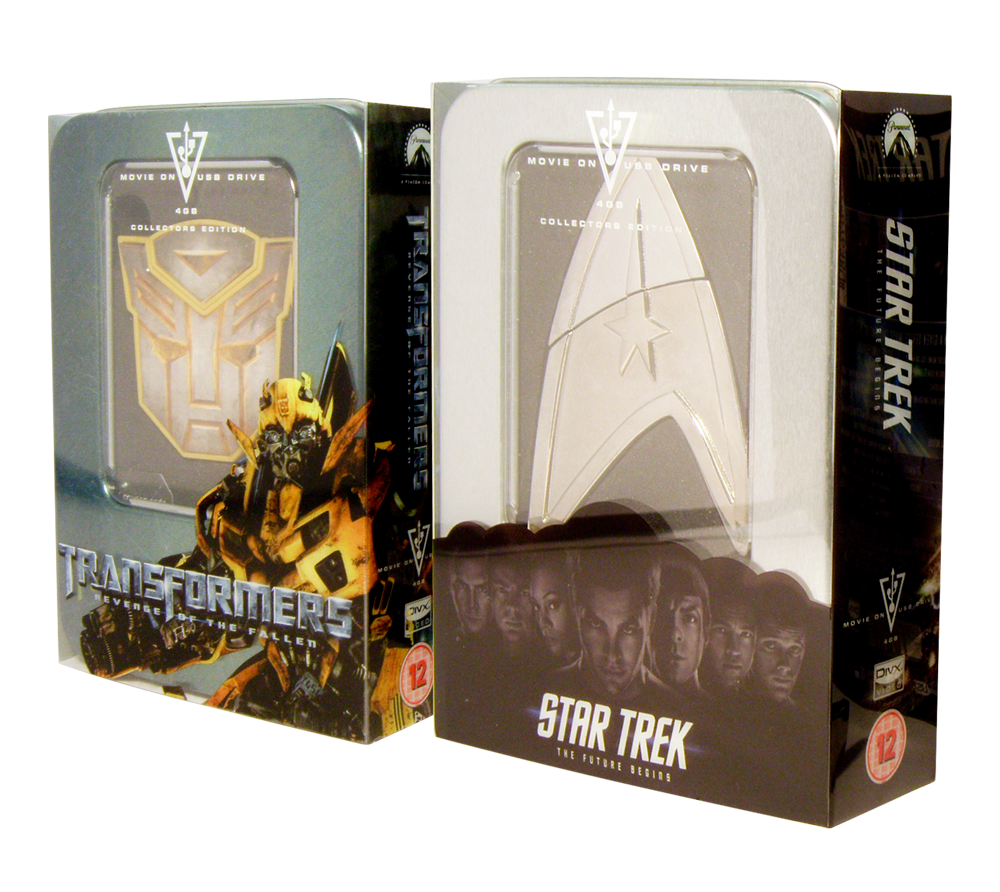 StarTrek - Star Trek and Transformers USB