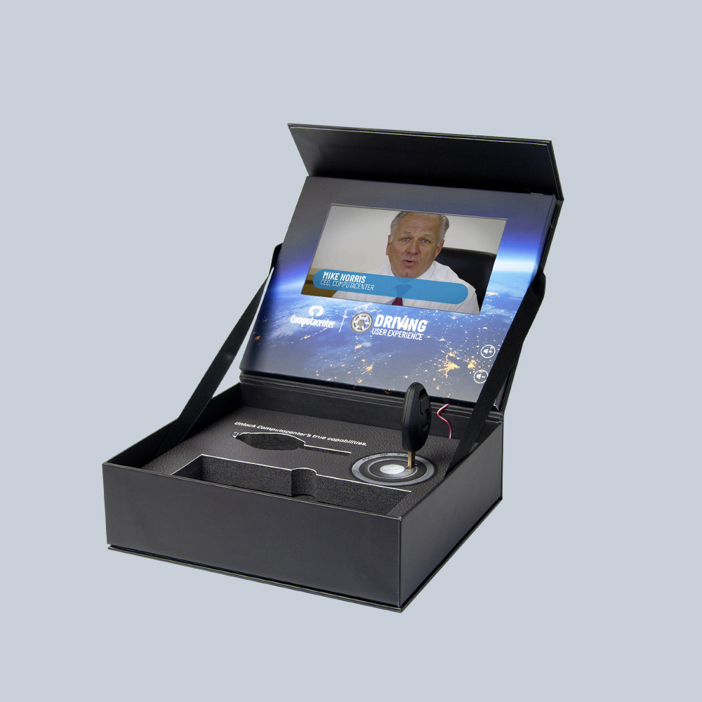 "Video Box // 7"" LCD Video Screen - Compucnter"