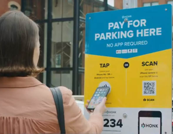 honk tap and pay nfc parking - Tap-or-Scan