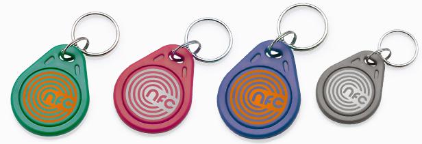 keyfobs NFC - NFC In Print