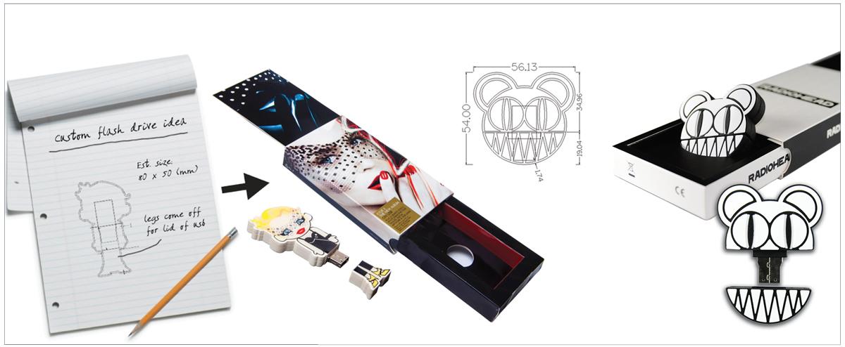 kylie radiohead 1200px - Custom USB