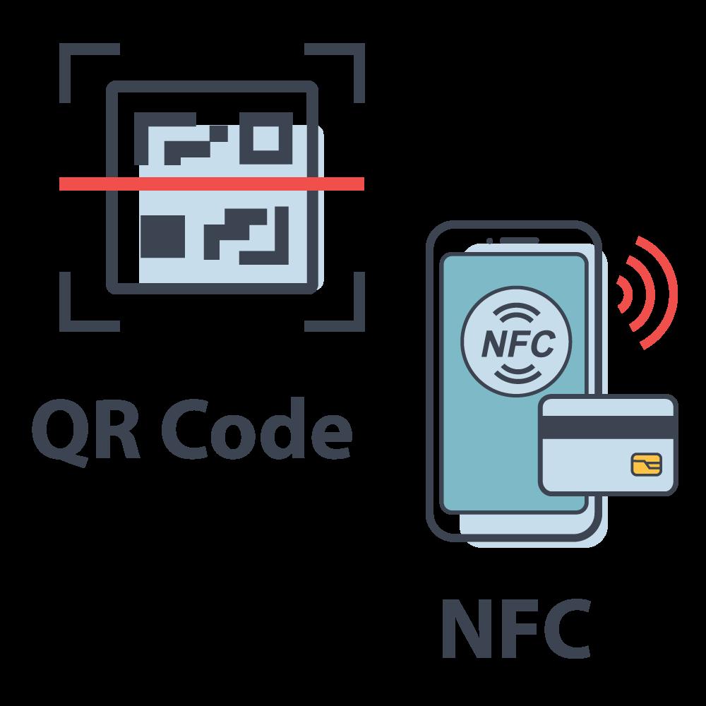 qr nfc - Jump QR+NFC