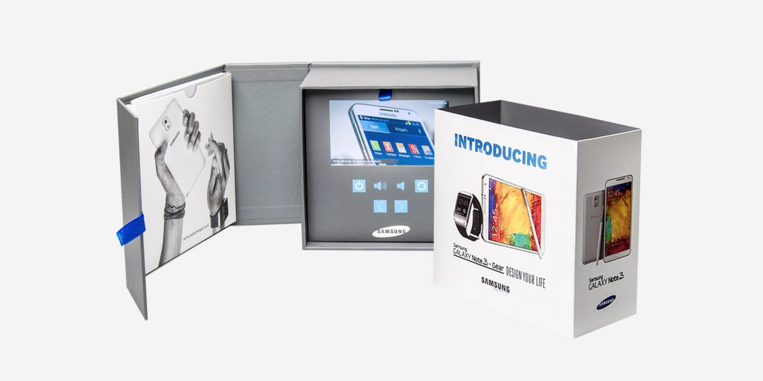 Custom VideoPak with Promotional Merchandise in Special Packaging